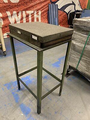 Rock Of Ages 24 X 18 X 4 Granite Surface Plate W Ledges Stand