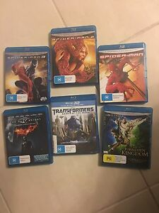 Bulk lot blue ray DVDs Craigieburn Hume Area Preview