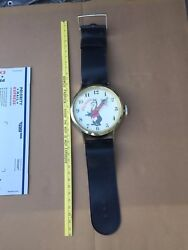 Vintage Hamm's Beer Over sized Wrist Watch Wall Clock