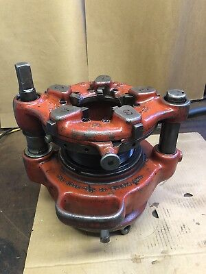 Ridgid 141 Receding Geared Threader 2 To 4 Pipe Die Head Jam Proof