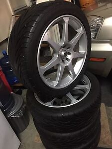 "17"" Wheels & Tires for Sale 80% tread 4 hole multibolt"