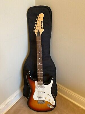 Hamer Slammer Guitar With Soft Black Case