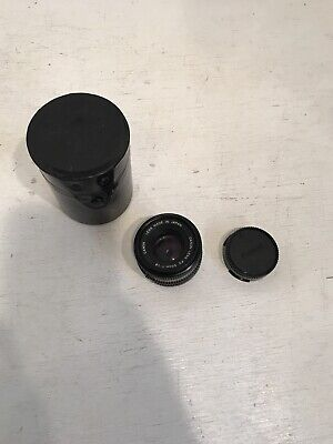 Canon FD 50mm F1:1.8 Prime Lens Clean With Case