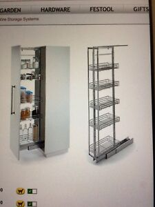 Lee Valley pantry system
