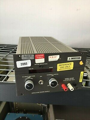 Lambda Lq-532 Lab Bench Dc Linear Power Supply 0-40v 5a - Full Load Tested