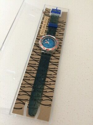 Genuine Swiss Made SWATCH SCUBA 200 vintage collectable watch GIFT BOXED! NEW!
