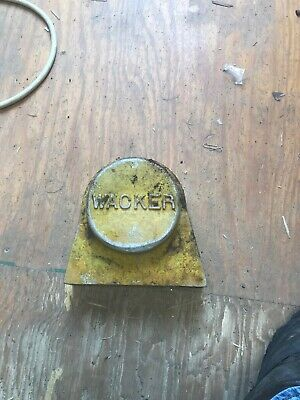 Wacker Plate Compactor Wch-6 Cover Plate