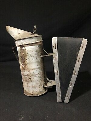 Vintage A.i. Root Quality Bee Supplies Bellowed Hive Smoker