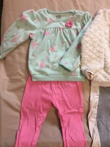 24m-2T lot of adorable girl outfits