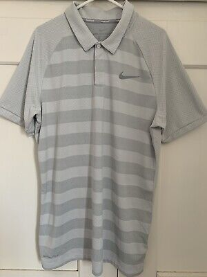 Nike Golf Shirt Size Small Colour White Zonal Cooling