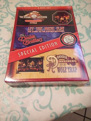 The Doobie Brothers Live At The Greek Theatre   Let The Music Play  Dvd  Oop Dvd