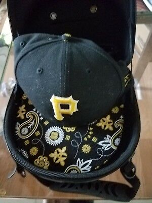 PITTSBURGH PIRATE HAT SIZE 8  IN IT'S OWN CARRYING CASE - ONE OF A KIND HAT