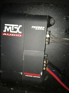 "2 10"" Subs plus Amp In Box"