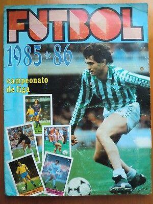 Lote de 9 cromos fútbol dobles Campeonato Liga LISEL 1985-1986. 85-86. Nuevos