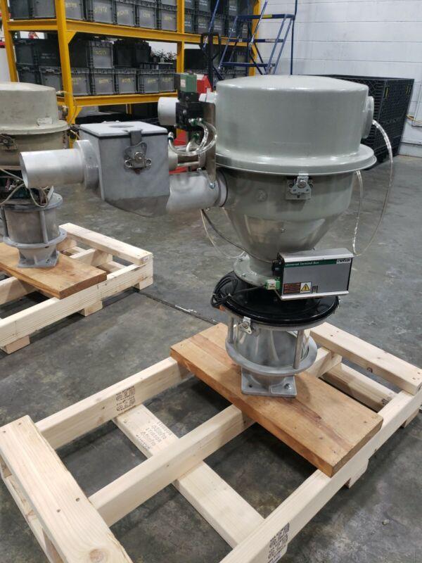 Conair DL12 Reciever Loader , Glass Hopper , Terminal Box #682N