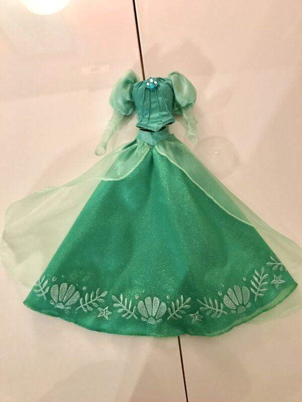 """Disney Limited Edition Doll Dress Ariel Little Mermaid 17"""""""