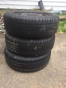 185/60R14 Tires and rims for sale