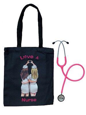Prestige Medical Valencia Med Bundle Clinical Lite Stethoscope With Tote Bag