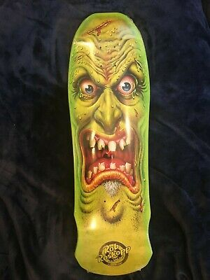 Santa Cruz x Jason Edmiston - Roskopp face skateboard deck - New, Limited,Rare!