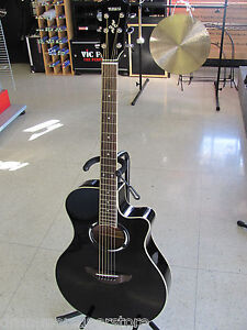 yamaha apx500 ii thinline acoustic electric guitar black with built in tuner ebay. Black Bedroom Furniture Sets. Home Design Ideas