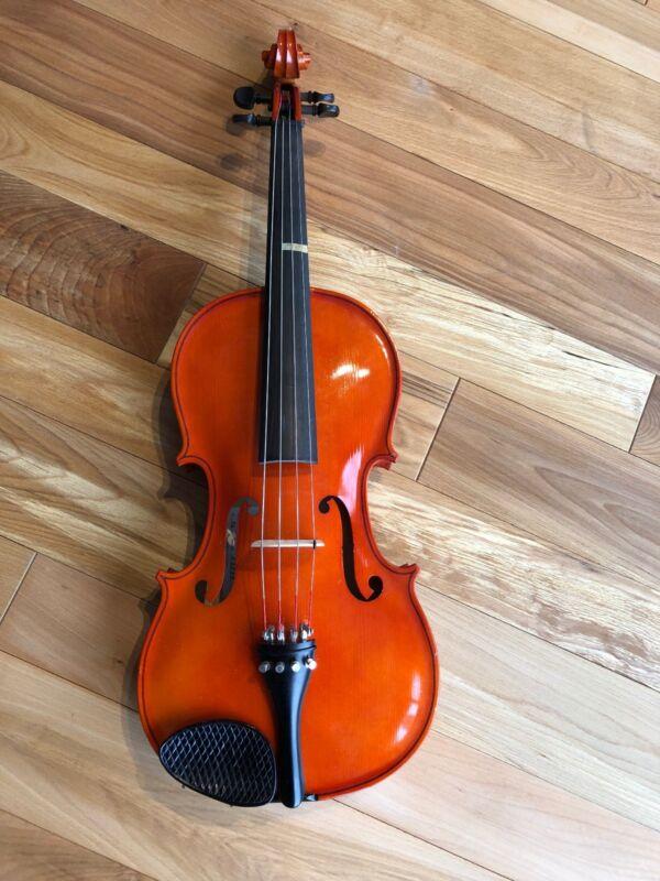 Franz Hoffmann Concert Viola 16 inch with Dk Blue Velvet Lined Hard Travel Case
