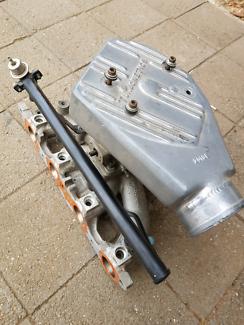 Ford Escort Cortina Capri 2lt custom turbo inlet setup