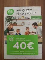 40€ Hello Fresh Rabatt Gutschein Duisburg - Hamborn Vorschau