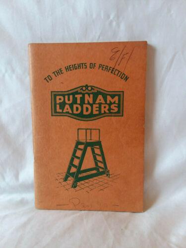 Vintage antique Putnam Ladders catalog PB Brooklyn New York illustrated
