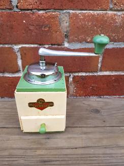 Kym German made vintage coffee grinder
