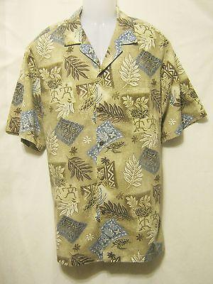 MD FASHIONS Vtg 90s Mens Hawaiian Style Shirt,XL,Short Sleeve,Made/Hawaii USA