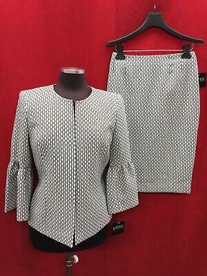 """KASPER SKIRT SUIT/LINED/RETAIL LENGTH 25""""/SIZE 18/NEW WITH TAG"""