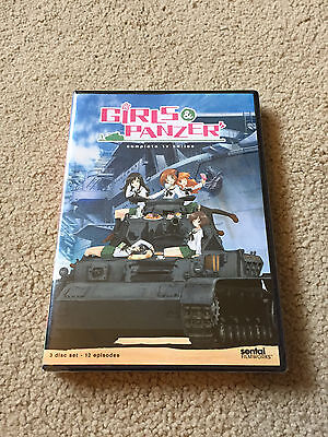 Girls Und Panzer  Complete Tv Series  Brand New 3 Disc Anime Set