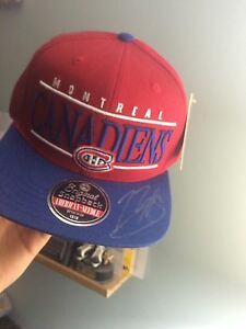 Montreal Canadiens Autographed hat West Island Greater Montréal image 2