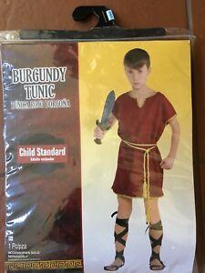 Burgundy tunic child costume - Knight
