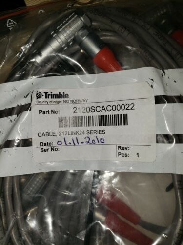 Trimble GX Laser Scanner Cable 2120SCAC00022   212Link24  NEW