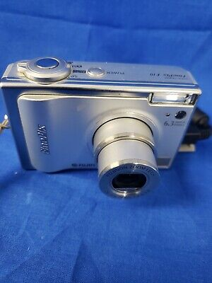 Fujifilm FinePix F Series F10 6.3MP Digital Camera - Silver Tested F10 Digital Camera