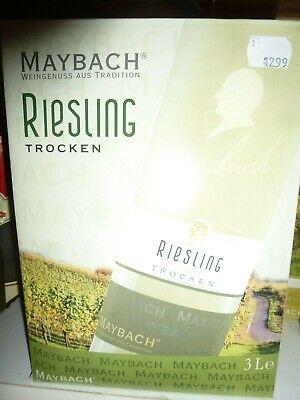 Maybach Geschenkpackung 3Ltr. zum Zapfen Riesling trocken