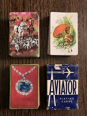 Vintage Playing Cards Full Set TRUMP CONGRESS