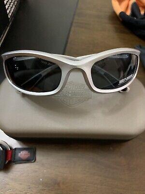 Harley Davidson® Black Lens Padded Foam Riding Biker Motorcycle Glasses Goggles