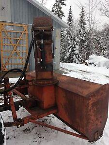 """Souffleuse à neige pour tracteur, 85 1/2"""""""