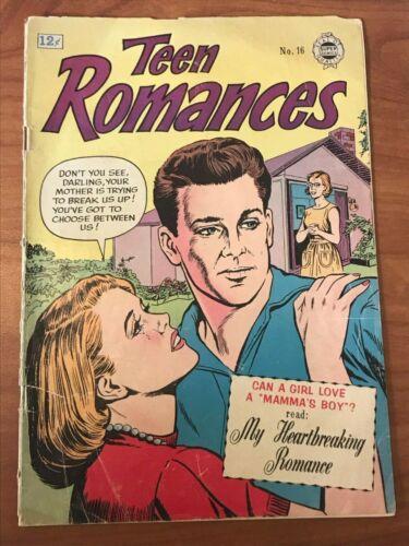Teen Romances #16 Super Comics 1964 GD/VG
