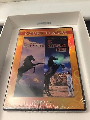 The Black Stallion And The Black Stallion Returns Rare Double Feature  2008 Dvd