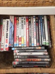 90 dvd's for sale dollar each Tingira Heights Lake Macquarie Area Preview
