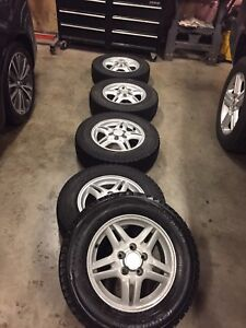 Yokohama winter tires on Honda rims