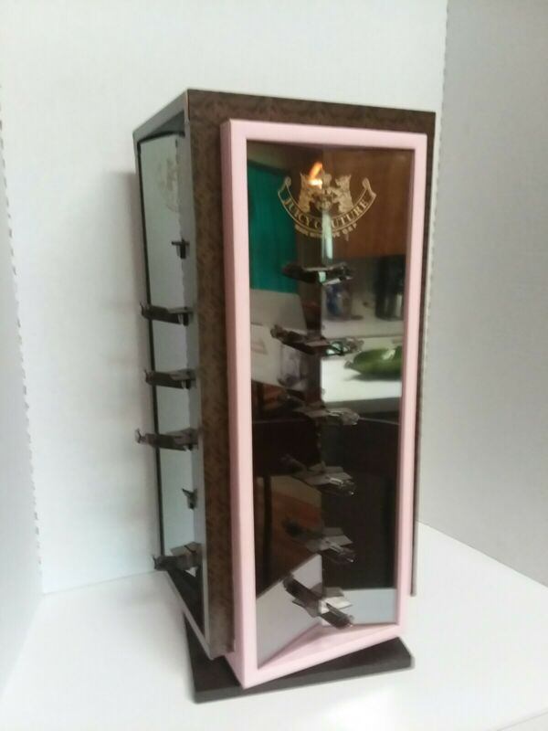 Juicy Couture Mirrored Display Case For Sunglasses.