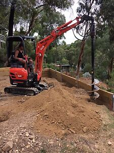 AUGER HIRE. POST HOLE DIGGER!! SPECIAL $305 inc P/D Briar Hill Banyule Area Preview