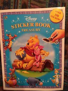 Winnie the Pooh sticker book treasury