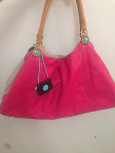 Two toned Leather Bag!!