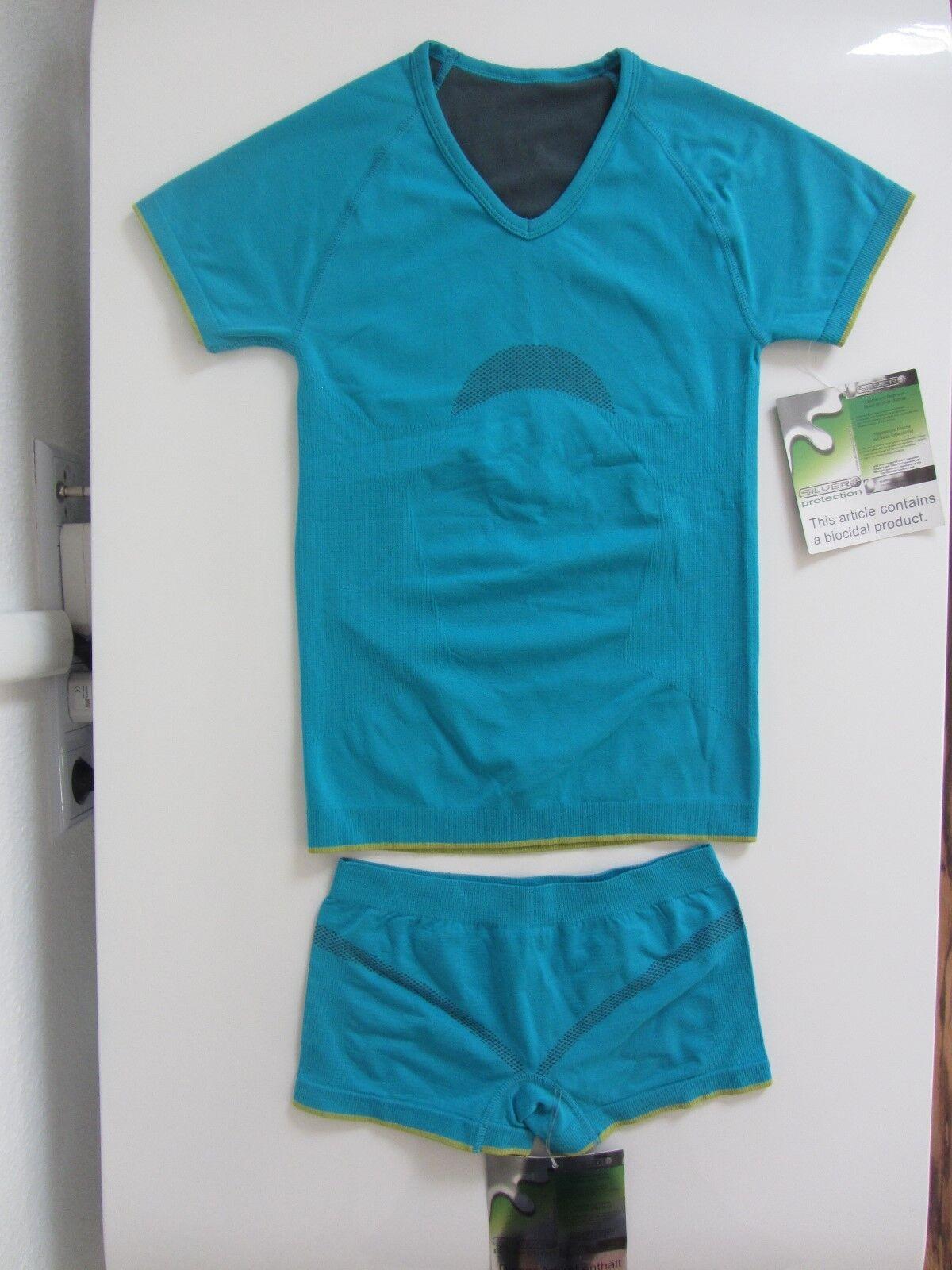 ACTIVE * Damen Funktions Shirt + Short * Gr. 36/38 * Joggen Laufe