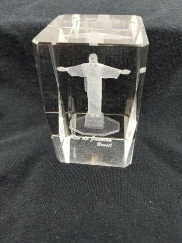 Rio De Janeiro Christ the Redeemer Glass Paperweight